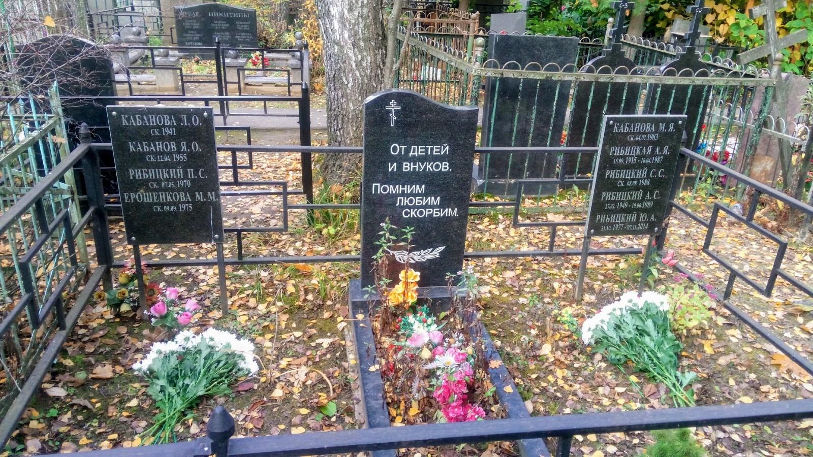 Бабушкинское кладбище, г. Москва